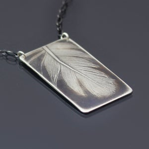 Image of Large Feather Necklace