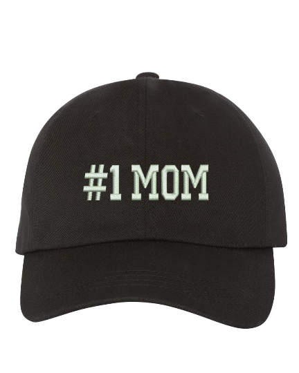 Image of Wholesale - One Dozen - #1 Mom Baseball Hat