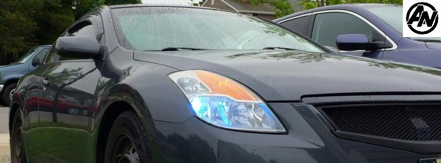 Image of (D32) 08-13 Altima Coupe Smoked Trimmed Window Wind/Rain Deflector