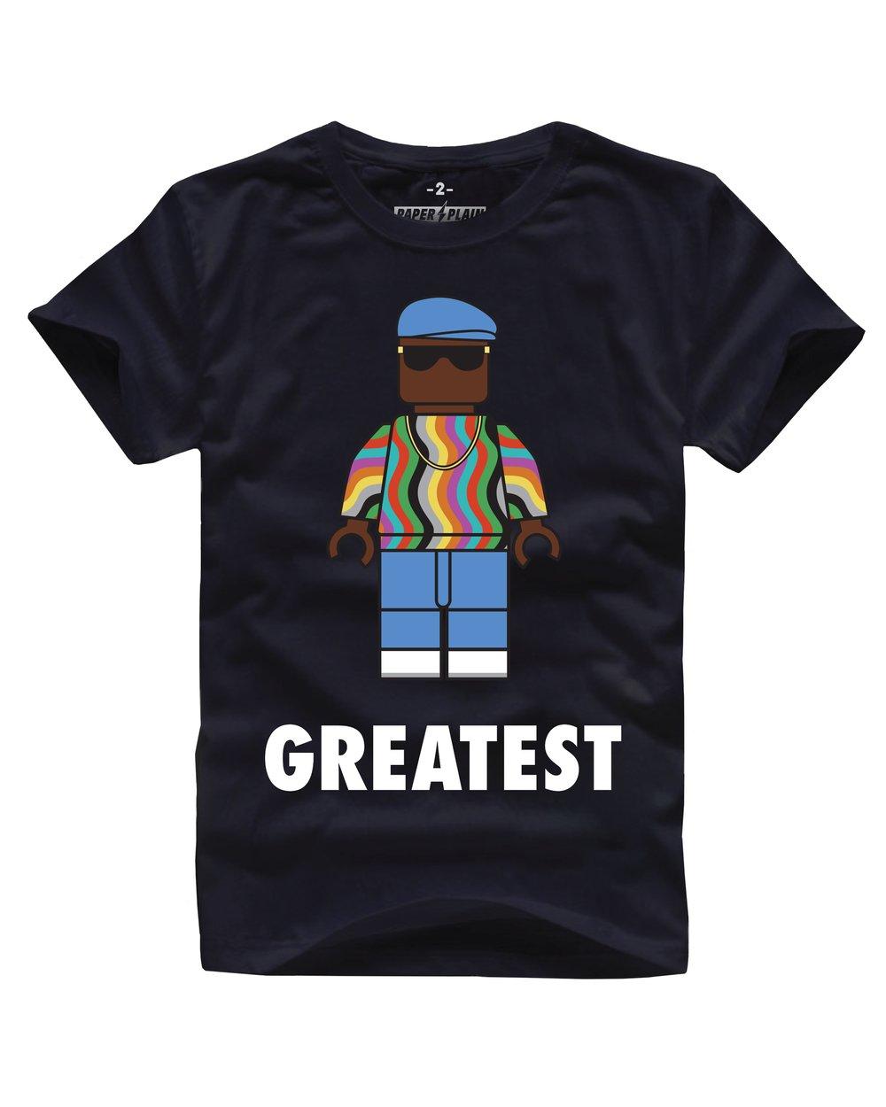 GREATEST BIG TEE BLACK