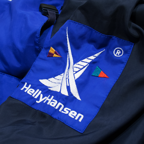 Image of Helly Hansen Vintage Sailing Jacket 3M Reflective Helly Tech Size L