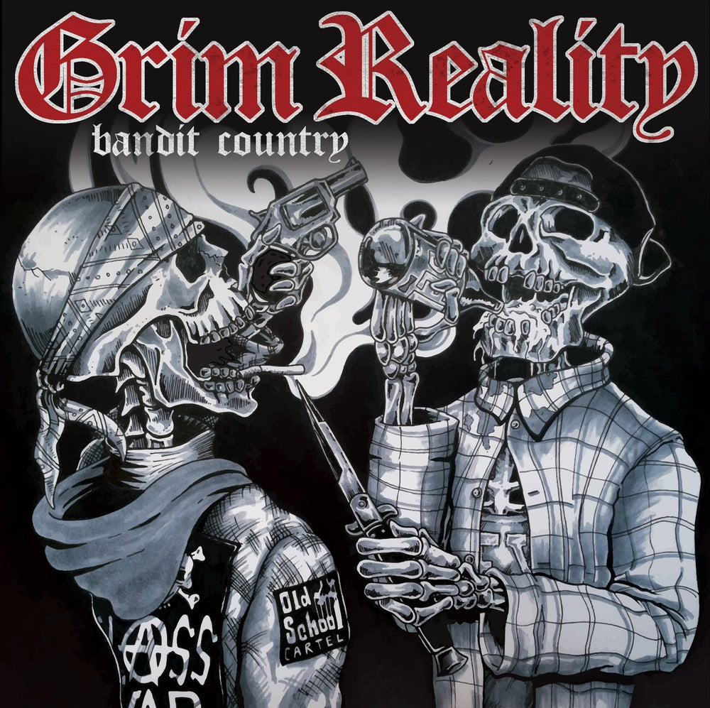 "Image of Grim Reality - Bandit Country 7"" Vinyl"