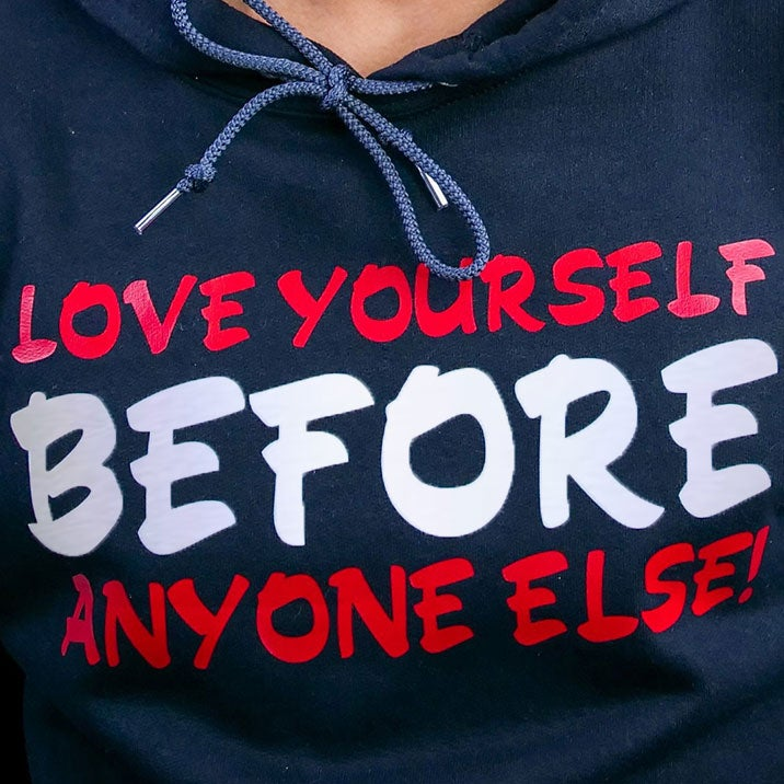 Image of Love Yourself Before Anyone Else Pullover Hoodie