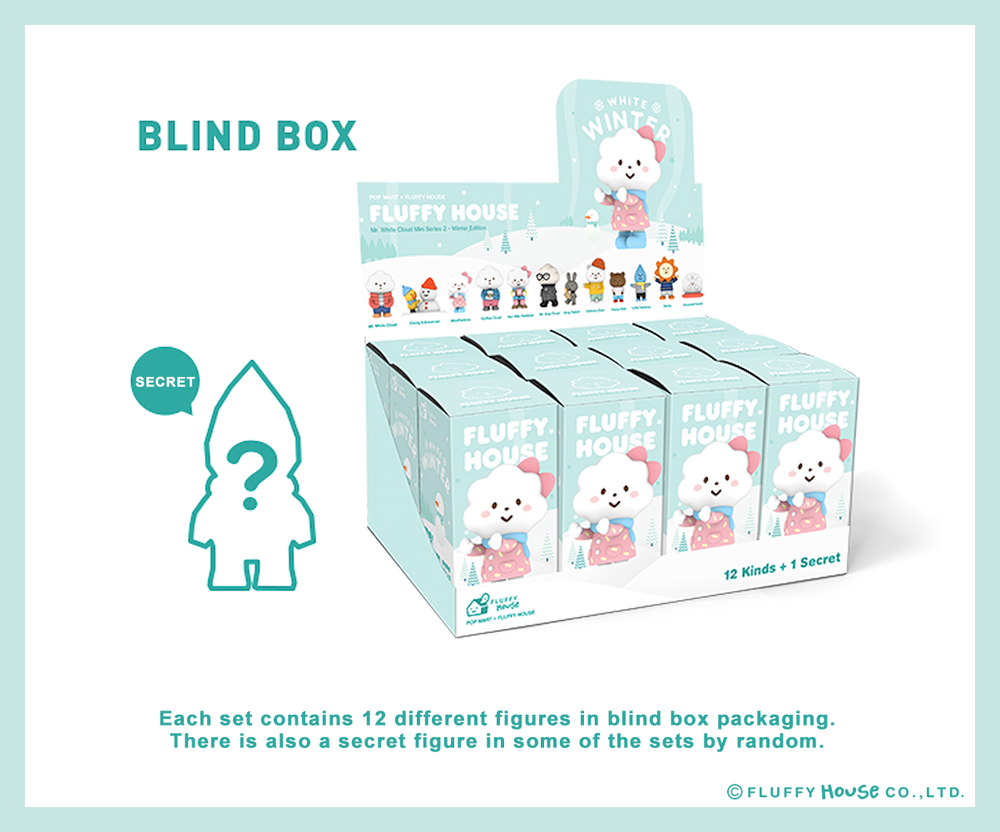 Image of Mr. White Cloud Mini Series 2 - Winter Edition (Whole Set)