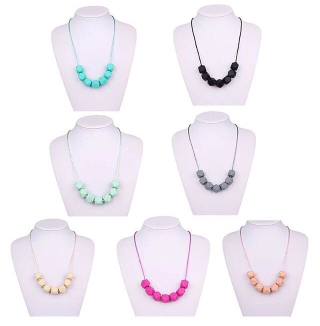 Image of Hexagon Necklaces