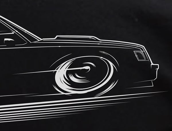 Image of Buick GN / Regal T-Shirts Hoodies Banners