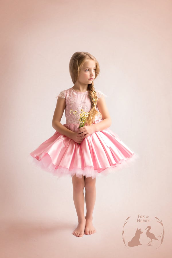 Image of Emma gown pale pink