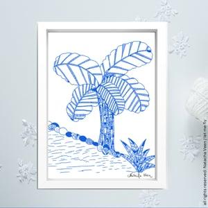 Image of Blue *Banana tree*_A6