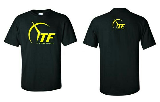 Image of ITF Safety Yellow Logo Tee
