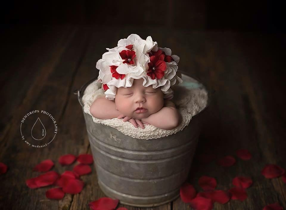 Image of Little Flower hat