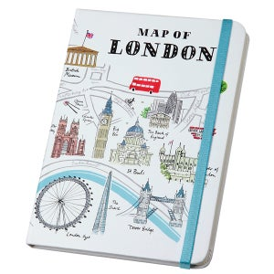Alice Tait Map of London Journal - Alice Tait Shop