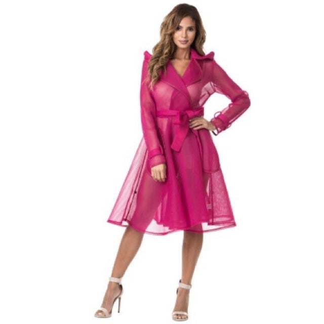 Image of Pure Elegance Fuschia Jacket