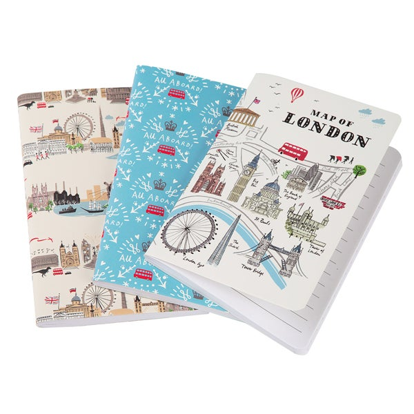 Alice Tait London Notebook Set of 3 - Alice Tait Shop