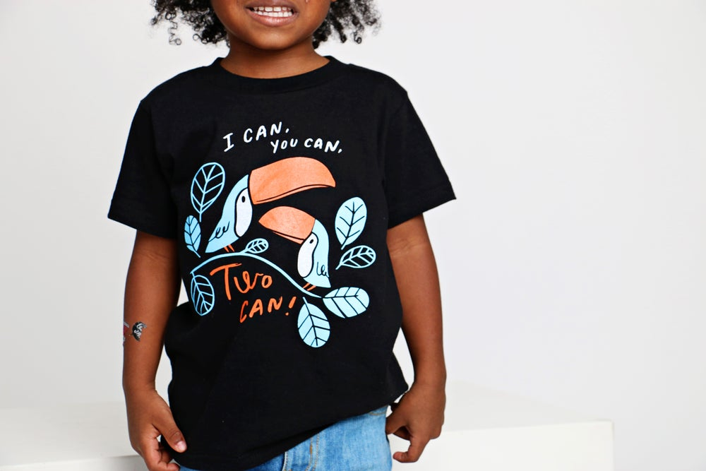 Image of TWO CAN! kids' tee