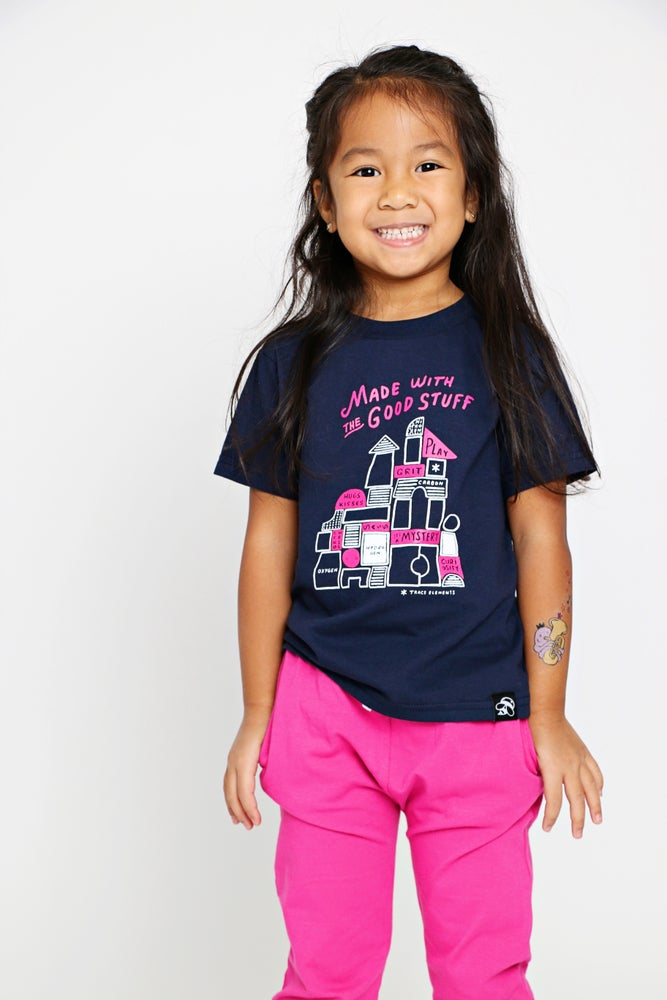 Image of THE GOOD STUFF kids' tee