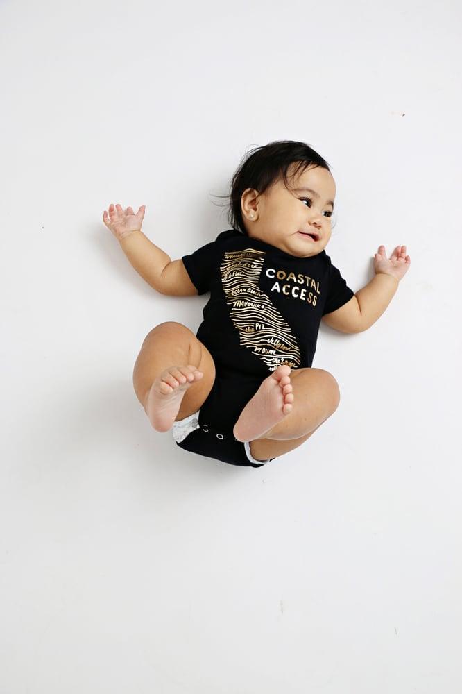 Image of COASTAL ACCESS babies' bodysuit