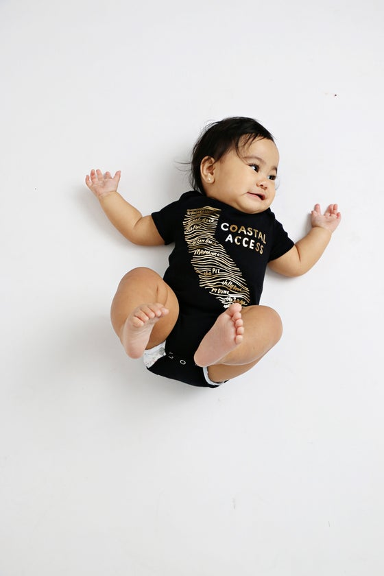 Image of COASTAL ACCESS babies' bodysuit