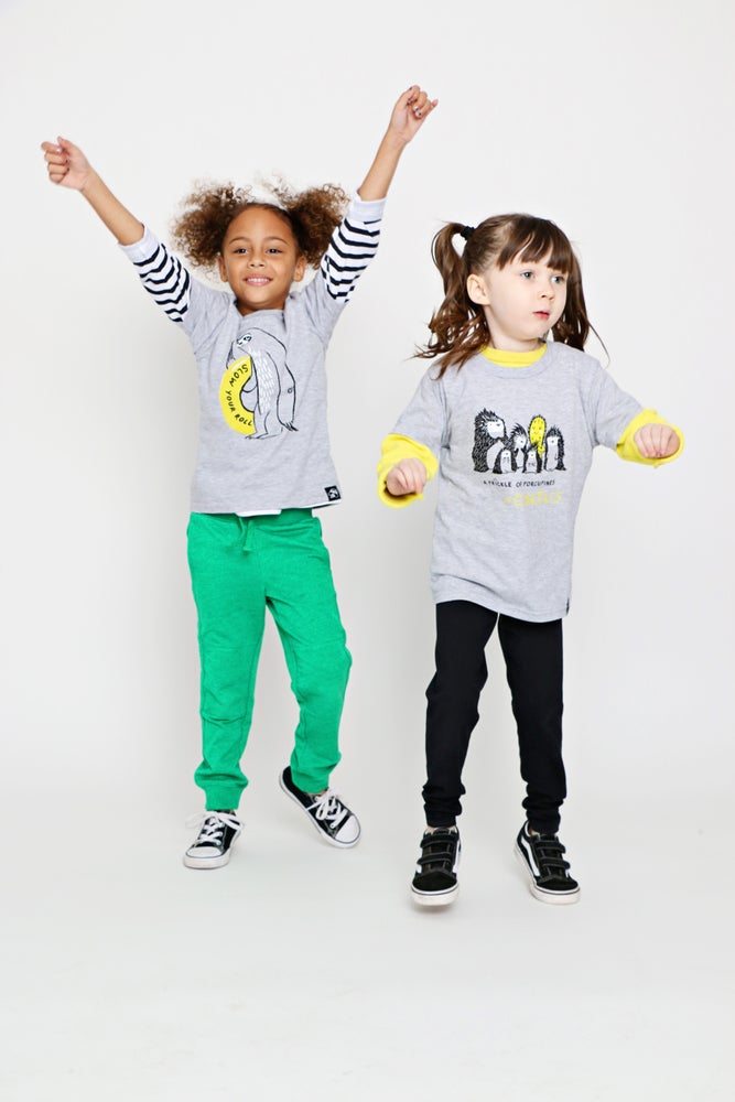 Image of SLOW YOUR ROLL kids' tee