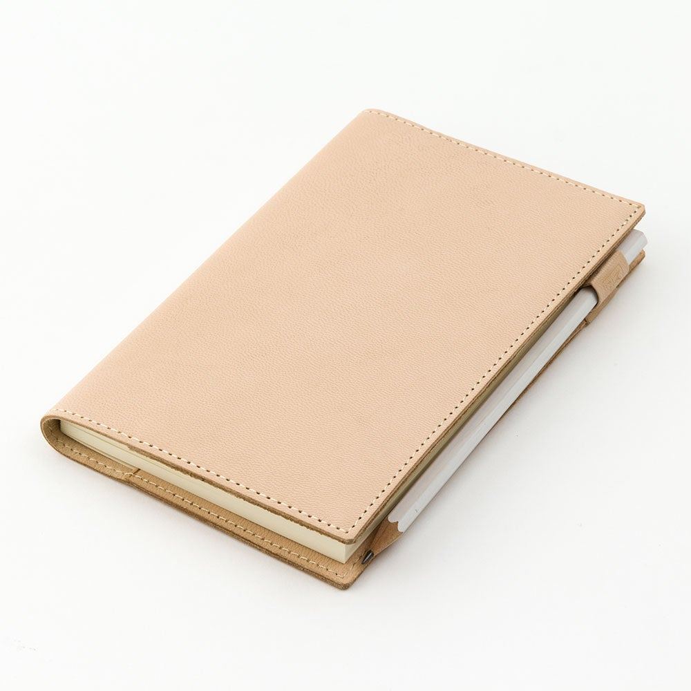 Image of MD Paper A5 Notebook Goat Leather Cover