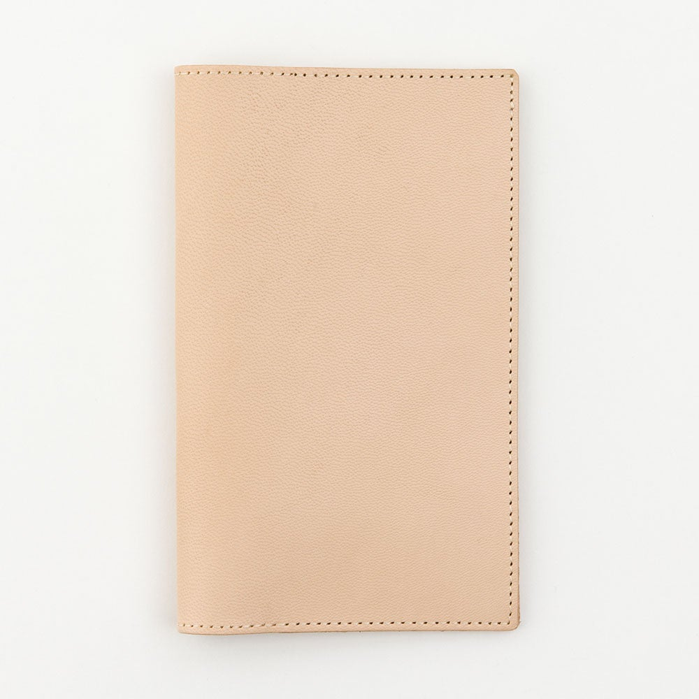 Image of MD Paper B6 Slim Notebook Goat Leather Cover