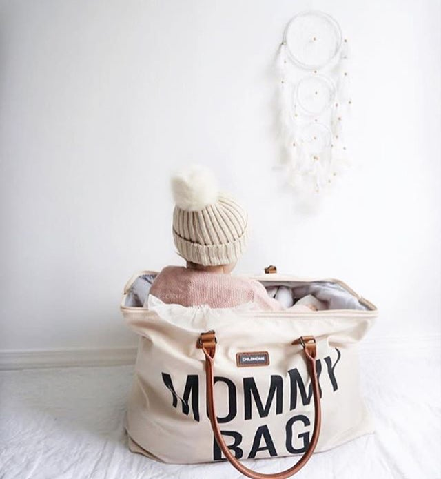 Image of SAC À LANGER BLANC - MOMMY BAG