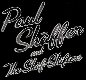 Image of Paul Shaffer and The Shaf-Shifters Ladies Silver & Glitter T-Shirt