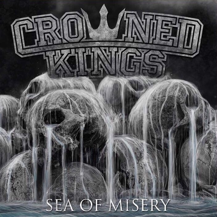 "Image of Crowned Kings - Sea Of Misery 12"" Black Vinyl"