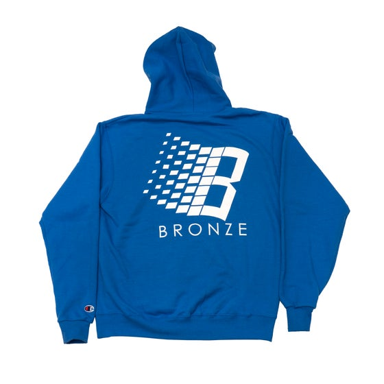 Image of B Hoody Royal Blue/White