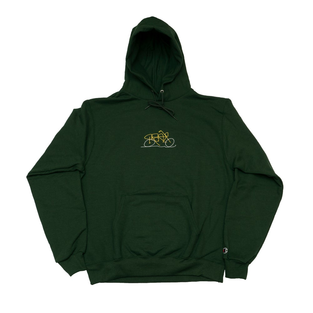 Image of Vroom Hoody Forest Green