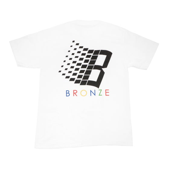 Image of B Tee Shirt White/Black/Color