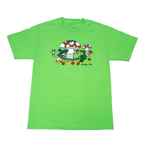 Image of Tom Pennie Tee Lime