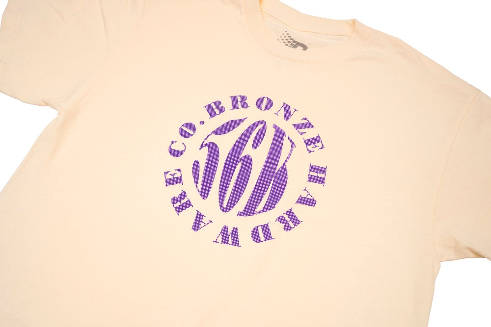 Image of Movement Tee Cream/Purple