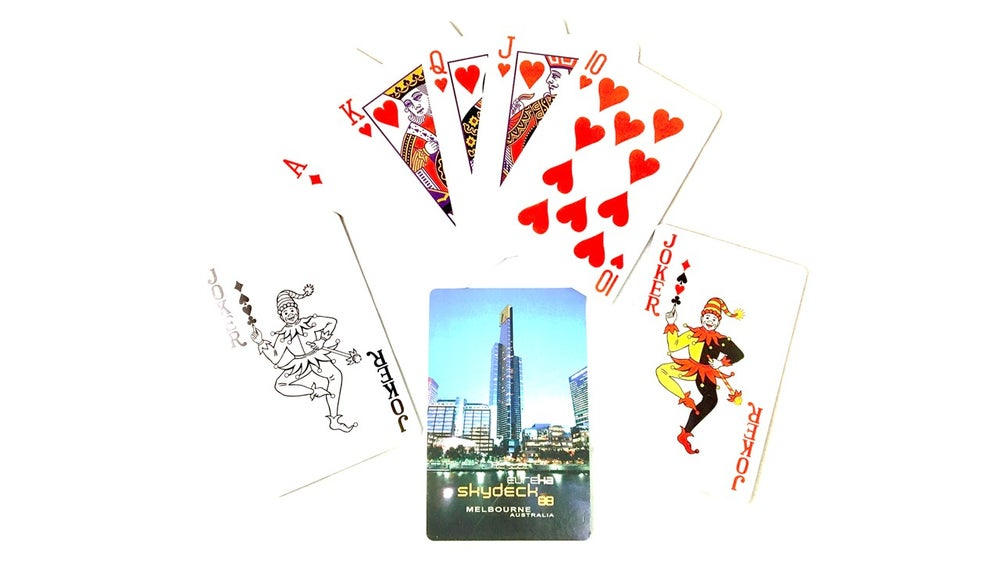 Image of Eureka Skydeck Playing Cards inc.postage*
