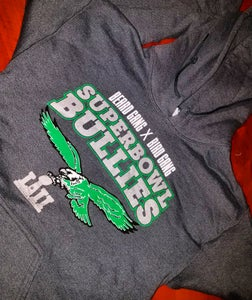 Image of BEARDGANG BIRDGANG SUPERBOWL BULLIES HOODIE