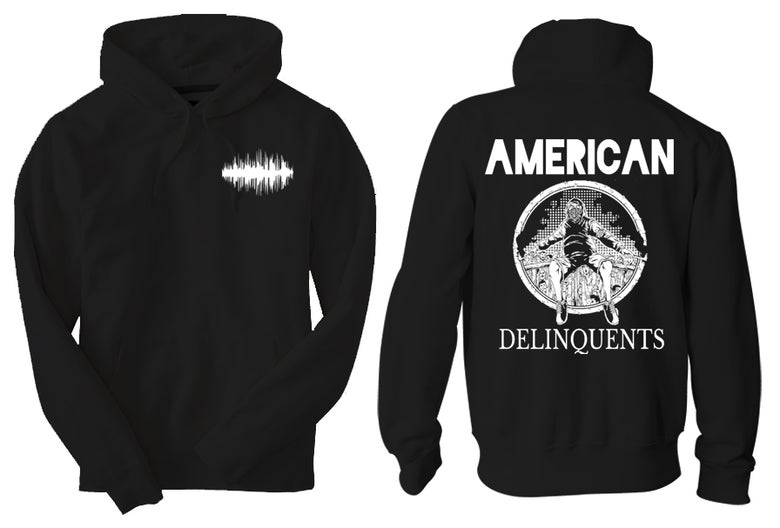 Image of American Delinquent Hoodie