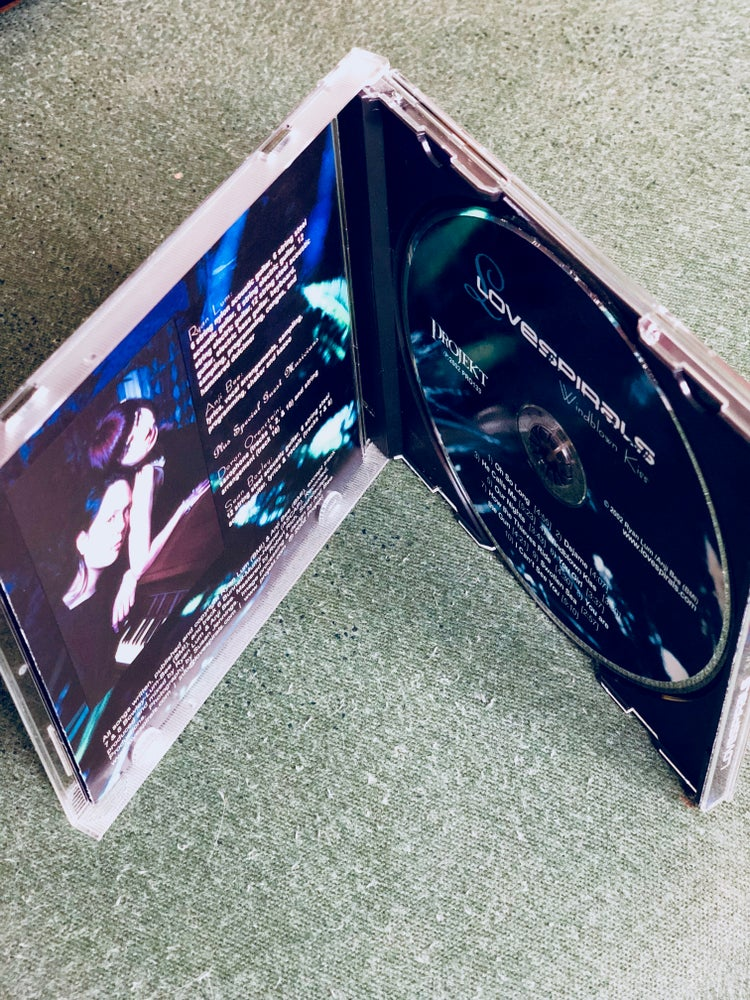 Image of Lovespirals 'Windblown Kiss' CD