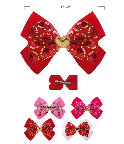 Image of Valentines Hair Bows