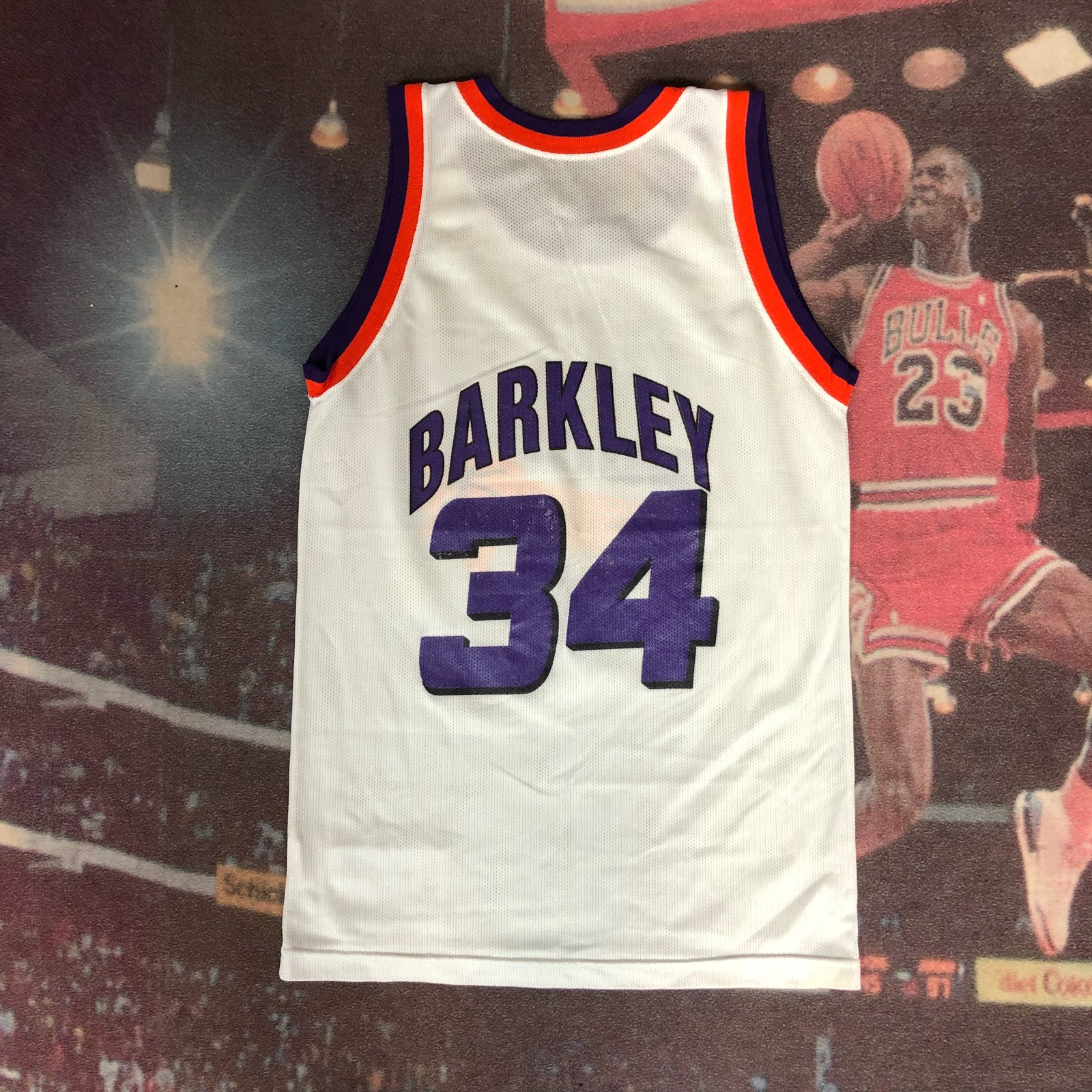 Image of vintage champion phoenix suns charles barkley jersey youth size  large jpg 1000x1000 Barkley suns c45eb6105