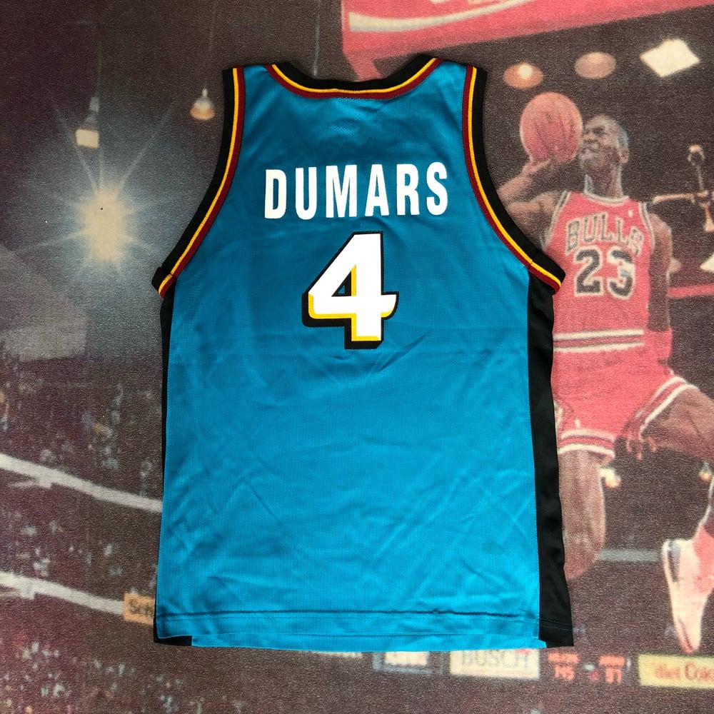 Image of Vintage Champion Detroit Pistons Joe Dumars Jersey Youth Size Large