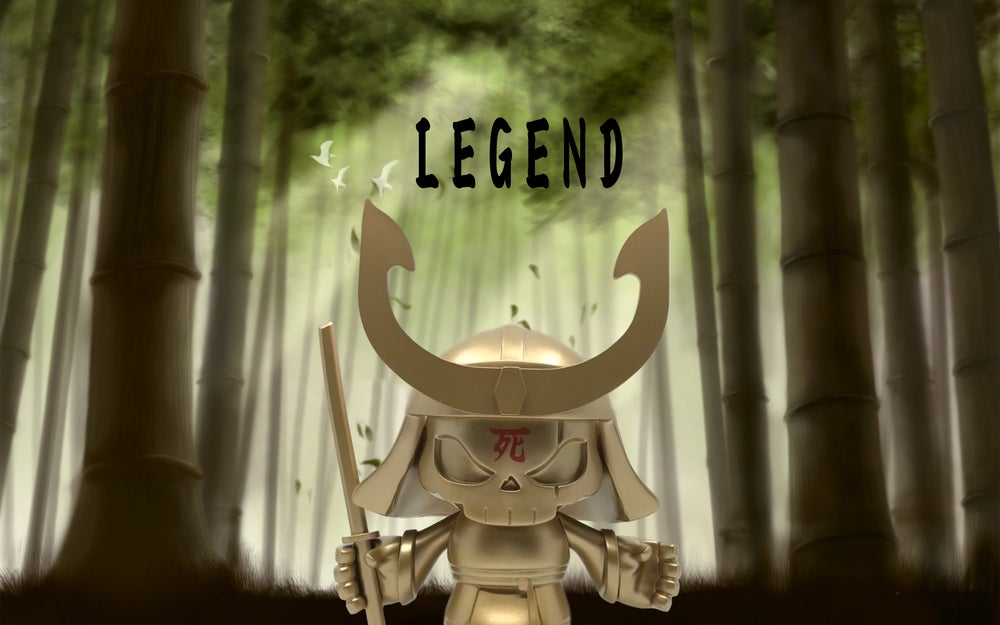 Image of Skullhead Samurai: Legend