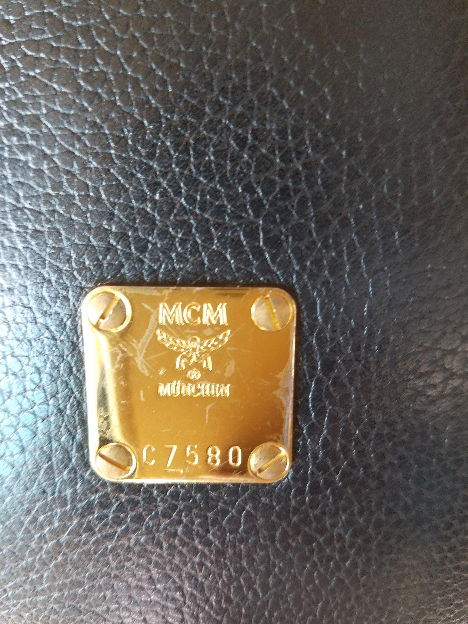 Image of Vintage MCM Tambourine Crossbody