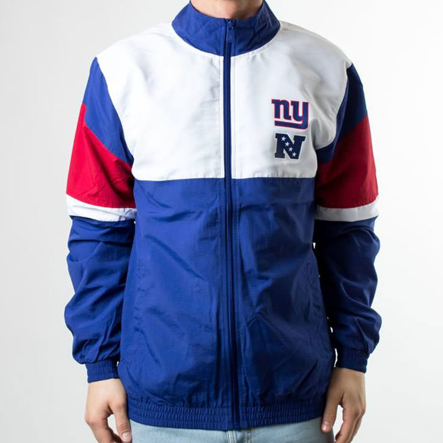 Image of F-O-R TRACK JACKET NEW YORK GIANTS