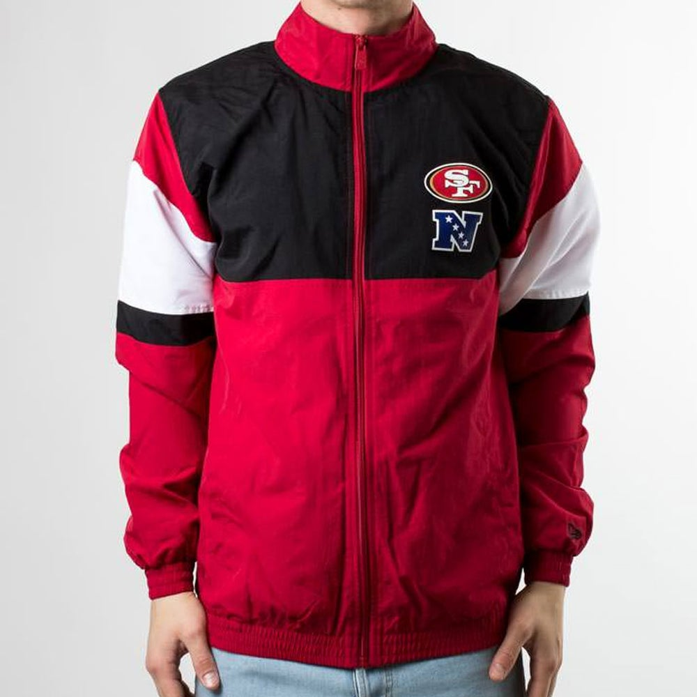 Image of F-O-R TRACK JACKET SAN FRANCISCO 49ERS
