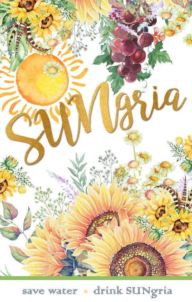 Image of SUNgria Wine Label
