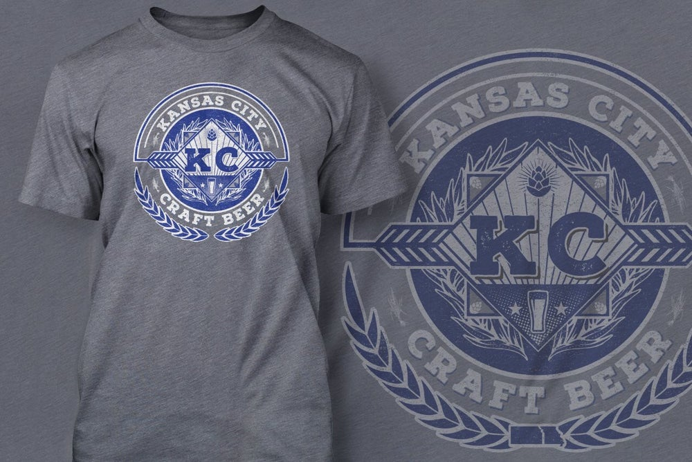 Image of Loyalty KC Kansas City Craft Beer Shirt