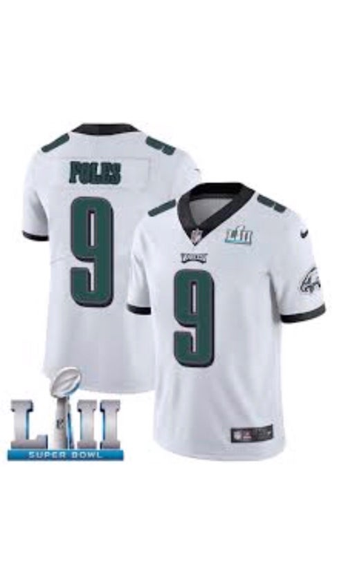 Image of Super Bowl Nick Foles Jersey #9