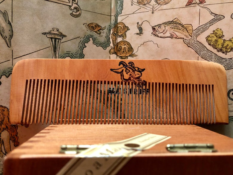 Image of Peach Wood Comb