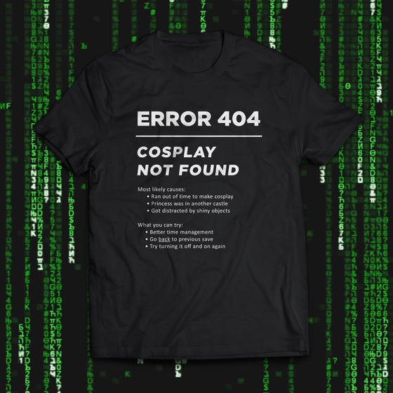 "Image of ""Error 404"" Tee"