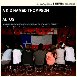 "Image of A Kid Named Thompson/Altus Split 7"" PREORDER"