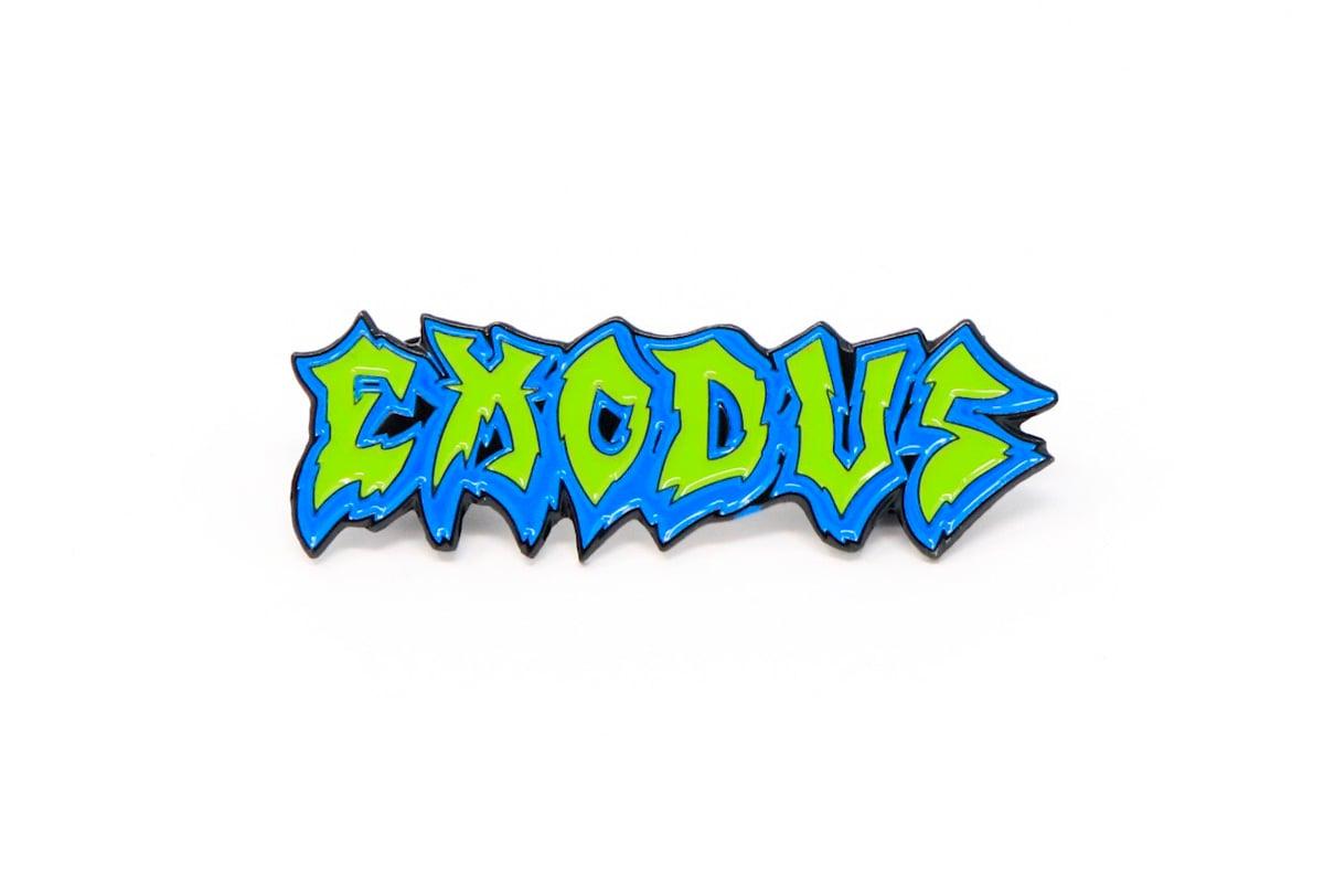 Image of Exodus - Fabulous Disaster Enamel Pin